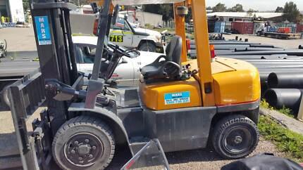 TCM 3.5T deisel Forklift. Sideshift. GST inc. GREAT VALUE! Singleton Singleton Area Preview