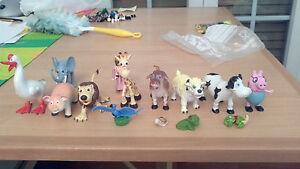Lotto di 13 Pupazzetti Animali varie (incluso Papà PIG) - Italia - Lotto di 13 Pupazzetti Animali varie (incluso Papà PIG) - Italia