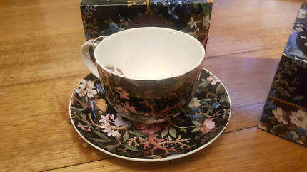 2x brand new cup and saucer Maxwell & Williams