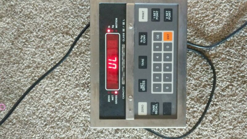 Condec Load Cell Central- Programmable Weight Indicator/ MODEL UMC600AAAC