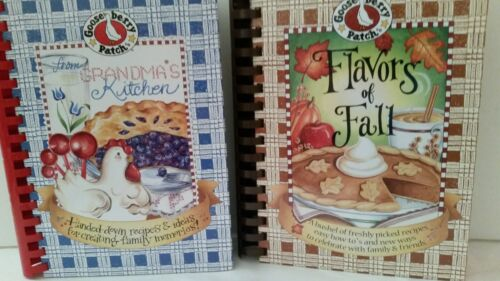 2 Goose Berry Patch Cookbooks