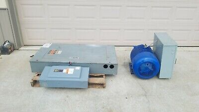Heavy Duty Rotary Phase Converter - 75 Hp - 3 Phase To Single Phase - Complete