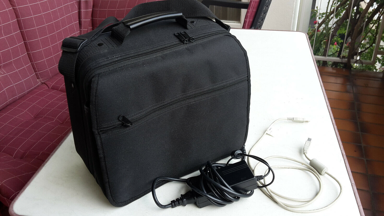 Reflecta DigitDia 3600 Diascanner, Magazinscanner mit Tasche