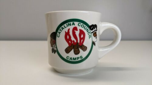 Vintage Boy Scouts of America Mug - Catalina Council Camps
