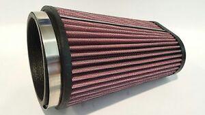 Yamaha Banshee 350 Replacement K&N Style Air Filter Pro Design Trinity Flow Kit