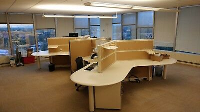 Used Office Cubicles Allsteel Terrace Cubicles