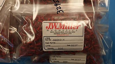 5 Pcs 06043-4 Jw Miller Fixed Inductors Coil 22awg 7.5t
