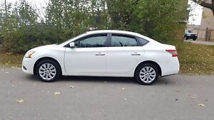 2013 Nissan Sentra S auto LOADED LOW KMS BLUETOOTH CERTIFIED $99