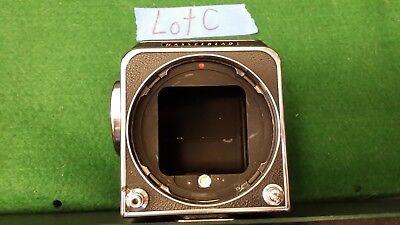 Nice old vintage MEDIUM FORMAT FILM Hasselblad 500C camera Body Lot C