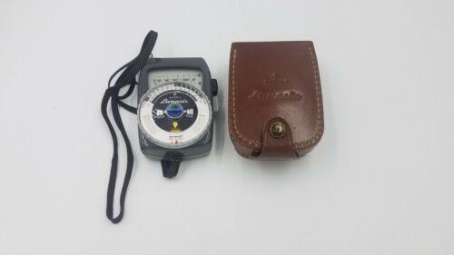 Gossen Lunasix Grey Gray Ambient Universal Exposure Light Meter