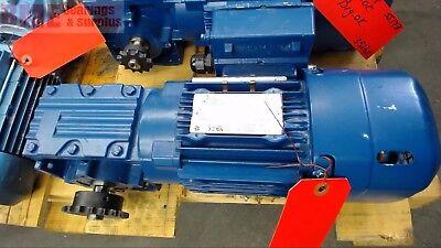 Sew Eurodrive W30drs71m4be1hr Gear Motor W Brake .75 Hp 230460 Volts