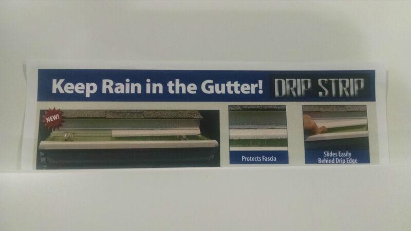 DRIP STRIP... Gutter, Gutter Protection, Seamless Gutter, Rain Gutter
