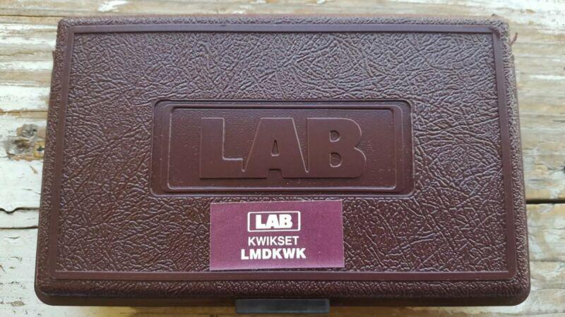 LAB Brand KWIKSET Keying Kit MINI DUR-X  Metal Pinning Kit LMDKWK