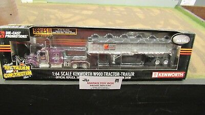 DCP#31992 TT&C SHOW AUTUMN TRANSPORT SEMI TRUCK EAST END DUMP TRAILER 1:64/ FC for sale  Shipping to Canada