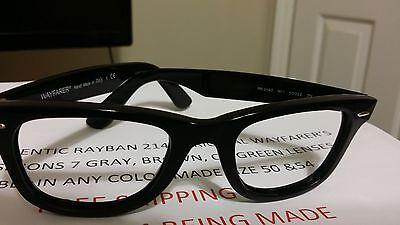 RAYBAN 2140 ORIGINAL WAYFARERS WITH TRANSITIONS 7 LENSES AND/OR (Wayfarer Transition Lenses)