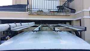 Aluminium rhino roof racks for tradies van. North Perth Vincent Area Preview