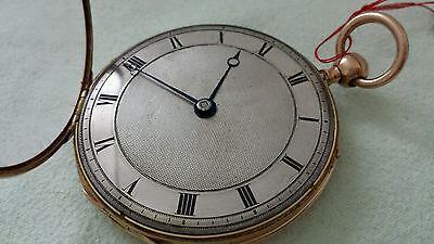 "Taschenuhr Repetition ""Leroy a Paris"" 18K Gold Antik um ca.1820-1840"