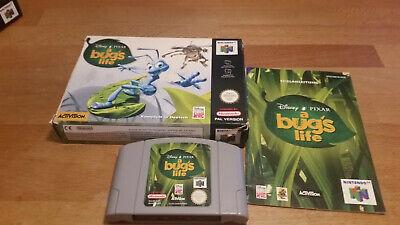 A Bug's Life Nintendo 64 N64 PAL OVP CIB Boxed
