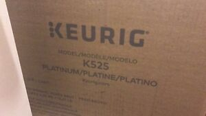 Keurig K525 never used