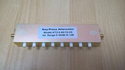 NEW RF 2.5GHZ / 91dB STEP /5W  VARIABLE 50 OHM ATTENUATOR,TRANSMITTER / FOX HUNT