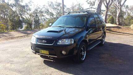 2004 Ford Territory SX FPV Ghia Turvey Park Wagga Wagga City Preview