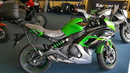 Kawasaki ninja 650L 2016