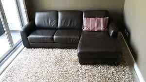 Leather Sofa with Chaise Nick Scali Alexandria Inner Sydney Preview