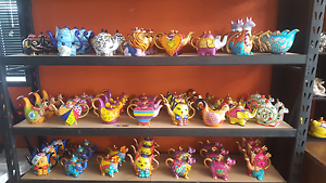 Wholesale Hand painted teapots  (new in box) Singleton Singleton Area Preview