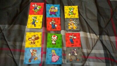 FULL 12 STICKER SET -- Super Mario Wonder Ball Coins -- MINT! - Wonder Balls