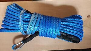"""Synthetic winch cable. I believe 1/4"""""""