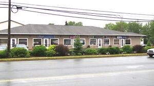 Commercial suites available for immediate occupancy