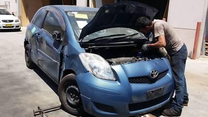 Toyota Yaris 2009 Hatchback Blue Smithfield Parramatta Area Preview