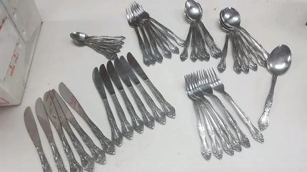 Cutlery set for 6 $10 the lot