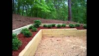 Retaining walls, Fences and more