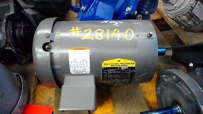 Baldor Vm3546t 1 Hp Ac Motor 208-230460 Volts 1750 Rpm 4p 143tc Frame