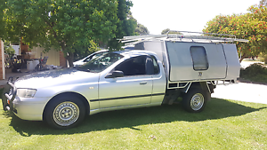Ba falcon work ute, with trade mate canopy Brookdale Armadale Area Preview