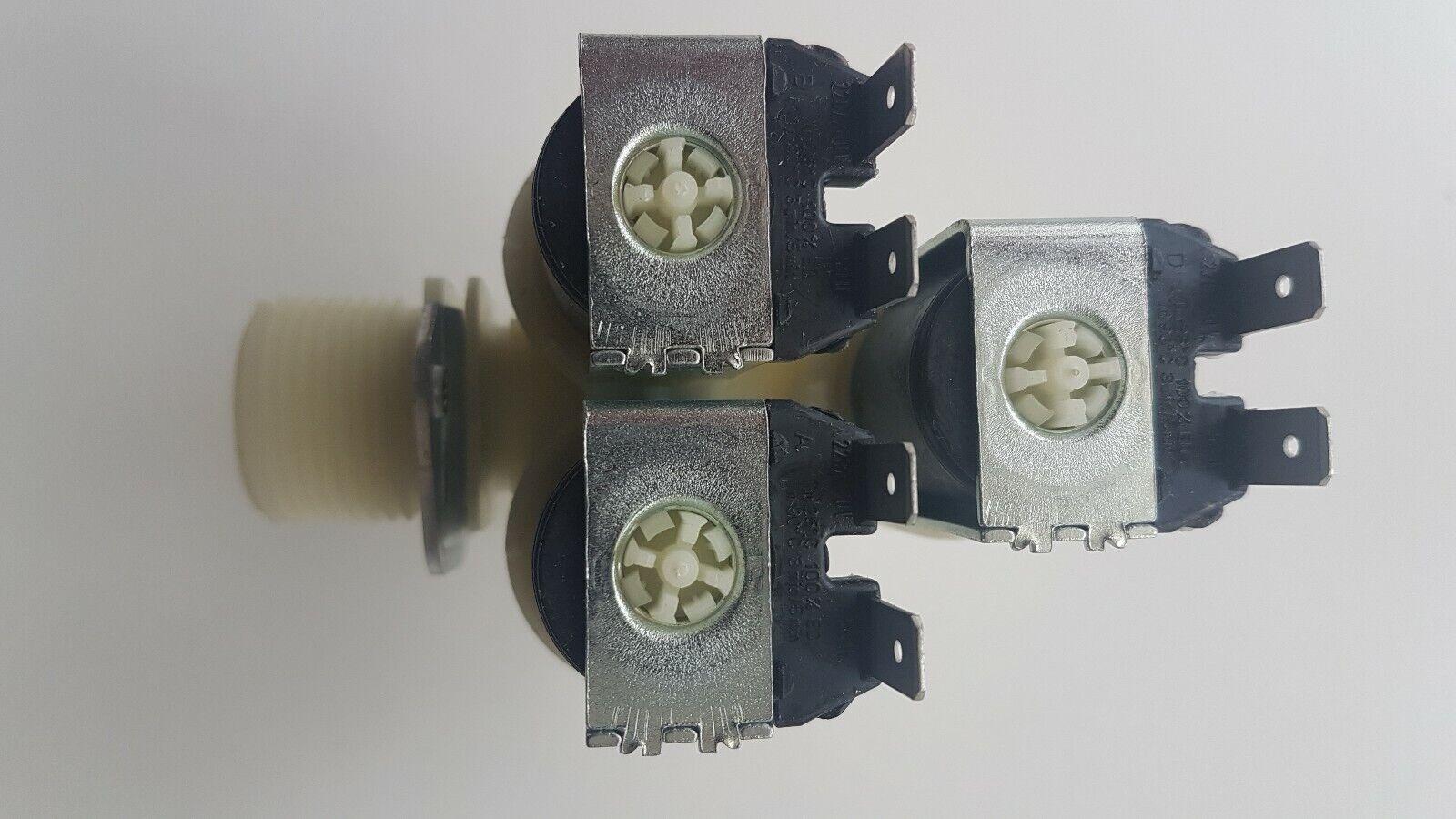 ORIGINAL Magnetventil Ventil 1-fach 180° 10,5mm Waschmaschine Miele 4971731