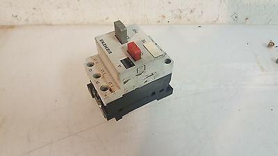 Siemens Motor Starter, 3VE1010-2M, 10 - 16 Amp, Used, WARRANTY