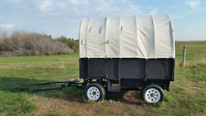 Horse Drawn Covered Wagon