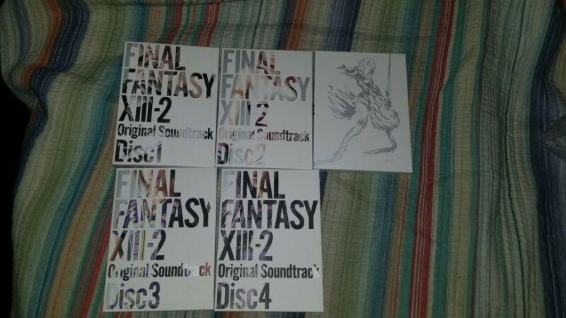 Final Fantasy XIII-2 4 disc collectors edition soundtrack