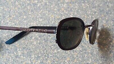 DKNY Donna Karan New York Oval  Purple Edge Model Designer Sunglasses