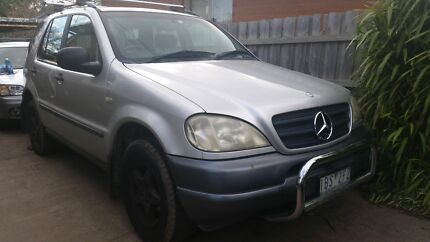 Mercedes Benz ML320 with 9 months Rego Vermont Whitehorse Area Preview