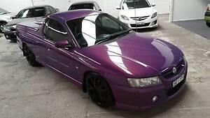 2007 Holden Commodore VZ SVZ 3.6L Ute 6 Speed Manual Purple Waratah Newcastle Area Preview