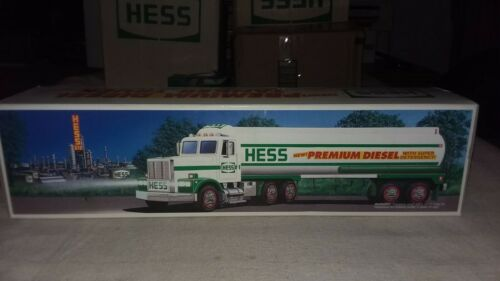 New! One 1993 Hess Premium Diesel Tanker Truck - Not Sold To Public
