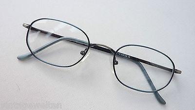 Brille Herren Metallfassung Brillengestell Opticunion Federbügel 49-20 Grösse (Brillen Optical)