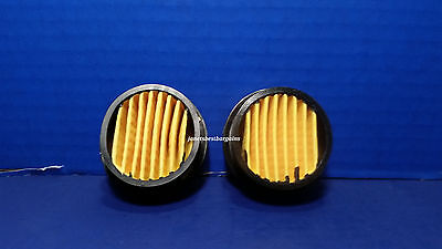 Air Compressor Intake Filter Silencer Replacement Paper Element 2 Pack