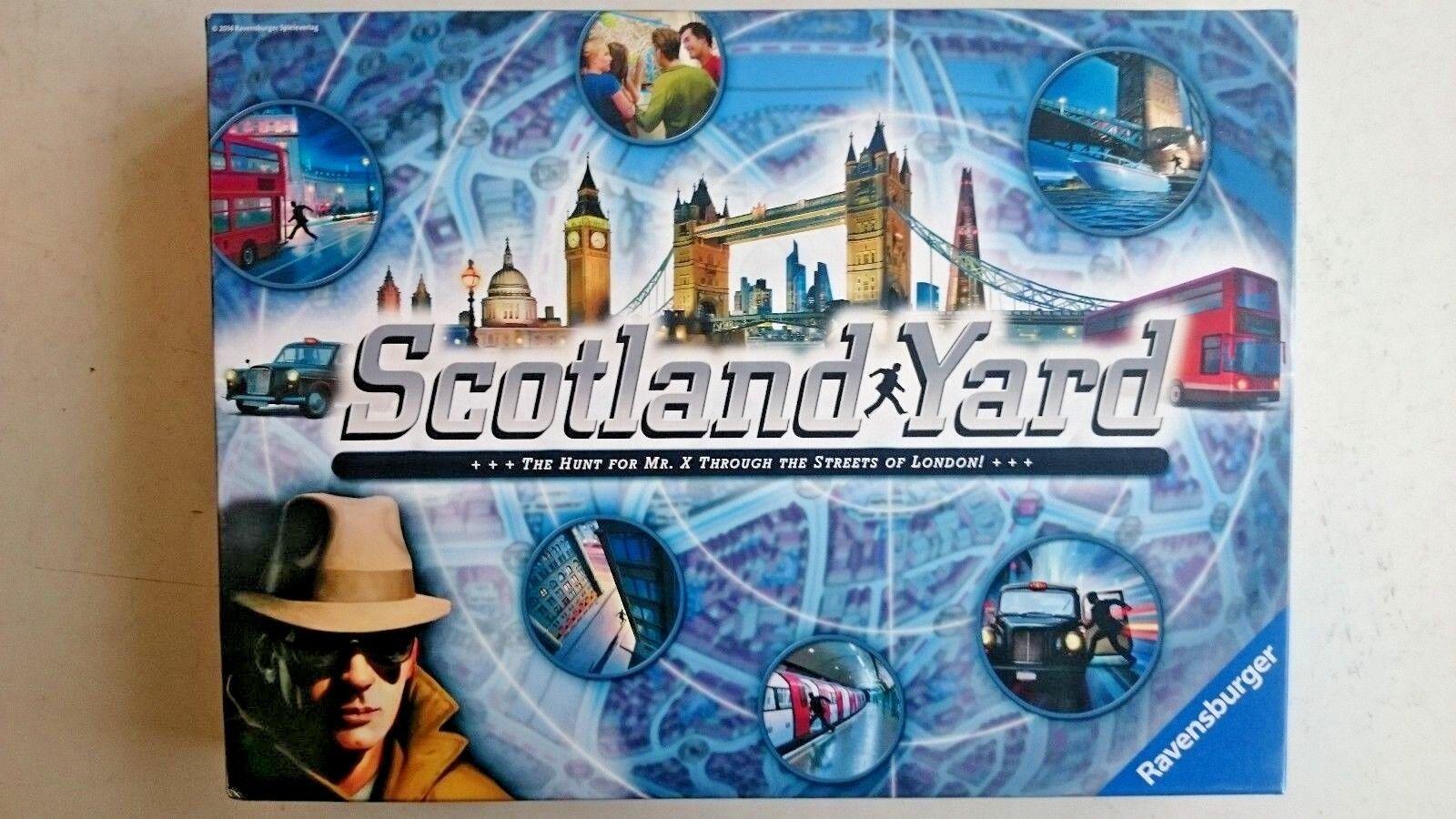 Scotland Yard Game ..By Ravensburger Games 2014 (New Unplayed)