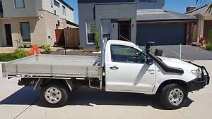 2010 Toyota Hilux SR Turbo Diesel 4x4 - 3 Seater REGO - MUST SEE! Coburg North Moreland Area Preview