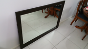Large timber framed wall mirror Darra Brisbane South West Preview