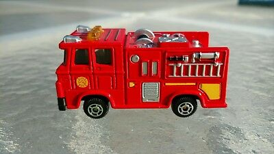 MOTORMAX 6059 RED FIRETRUCK PUMPER IN EXCELLENT CONDITION *FREE  SHIPPING* for sale  Gainesville